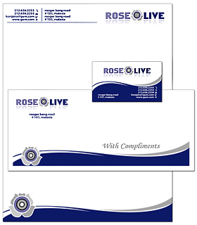 letterhead business card envelope design portfolio logo design